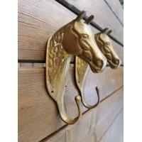 Kabykla bronzinė, arkliuko, žirgo galva. 2 vnt. Kaina po 42