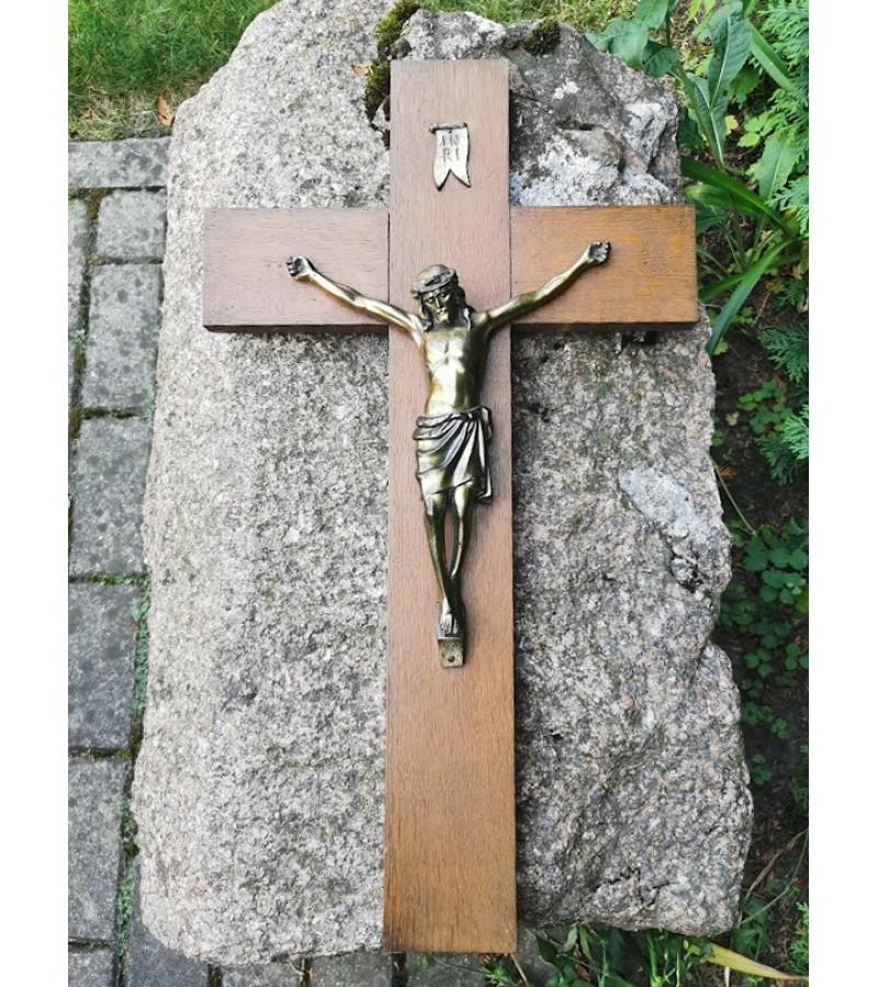 Nukryžiuotasis Kristaus figūra, Krucifiksas. Metalinis, Kaina 68