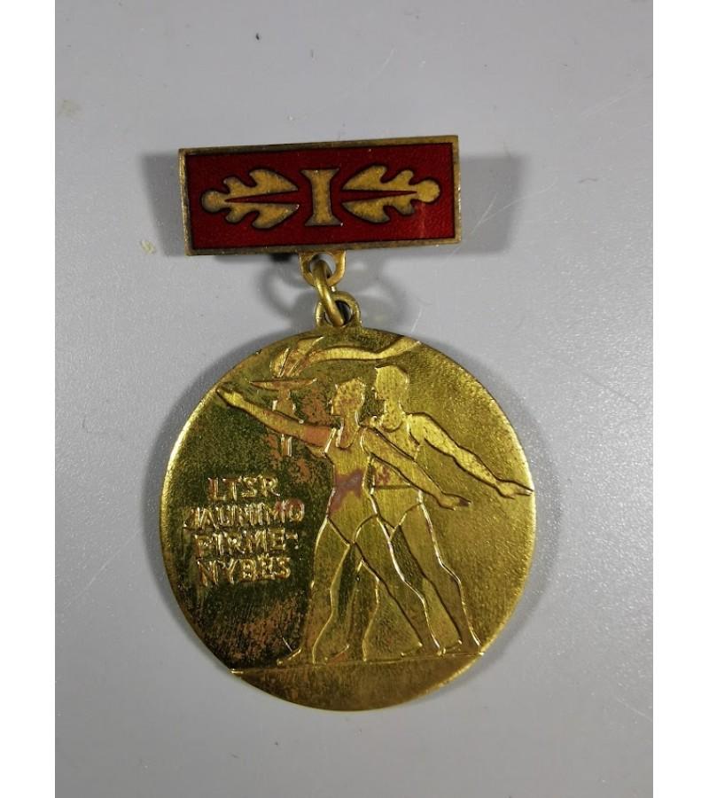 Medalis LTSR jaunimo pirmenybės, I vieta. Kaina 6