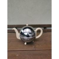Arbatinukas - kavinukas,  termosas, angliškas chromuotas. Kaina 63