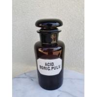 Vaistų, vaistinės butelis antikvarinis. Kaina 38