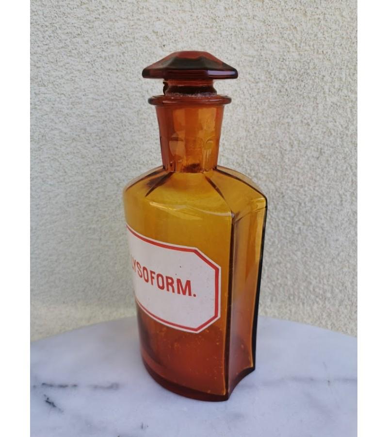 Vaistų, vaistinės butelis antikvarinis. Kaina 43