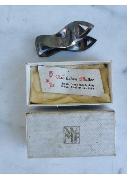 Žnyplės originalioje dėžutėje, antikvarinės, tarpukario laikų WMF. Vokietija. Kaina 13