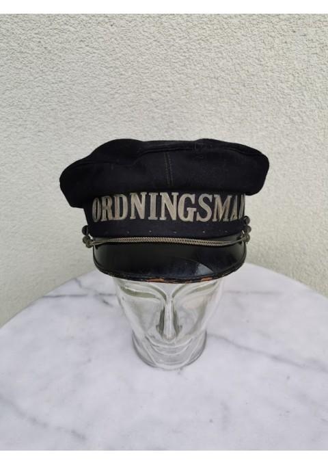 Kepurė antikvarinė ORDNINGSMAN (Prižiūrėtojas). Kaina 43