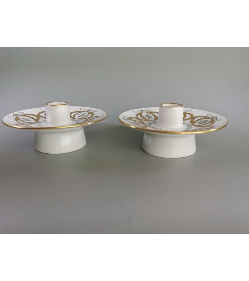 Žvakidės Rosenthal porcelianinės. 2 vnt. Kaina po 23