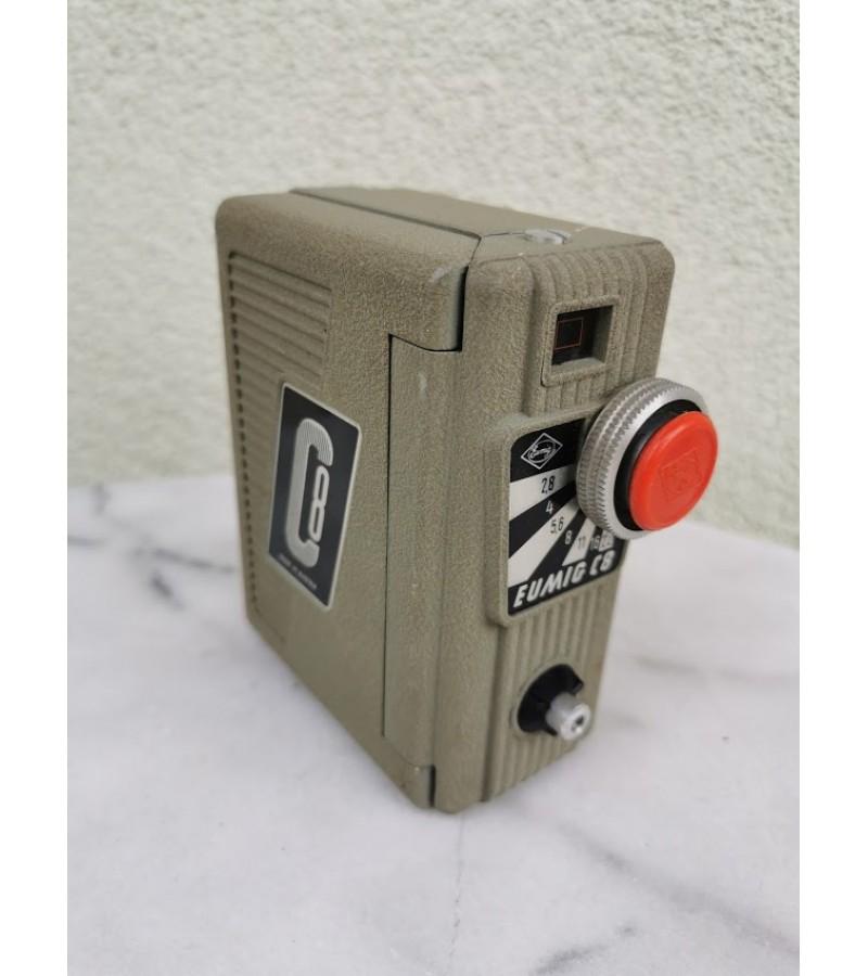 Foto kamera EUMIG C8 electrica. Made in Austria. 1954 m. Kaina 32
