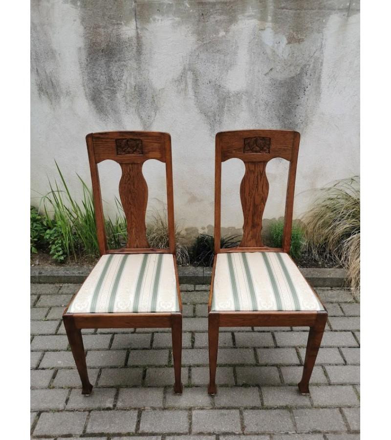 Kėdės Jugend stiliaus, antikvarinės. 2 vnt. Kaina po 63
