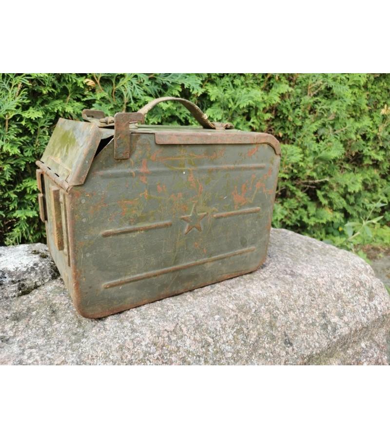 Šovinių dėžė kulkosvaidžio tarybinių laikų. Kaina 47