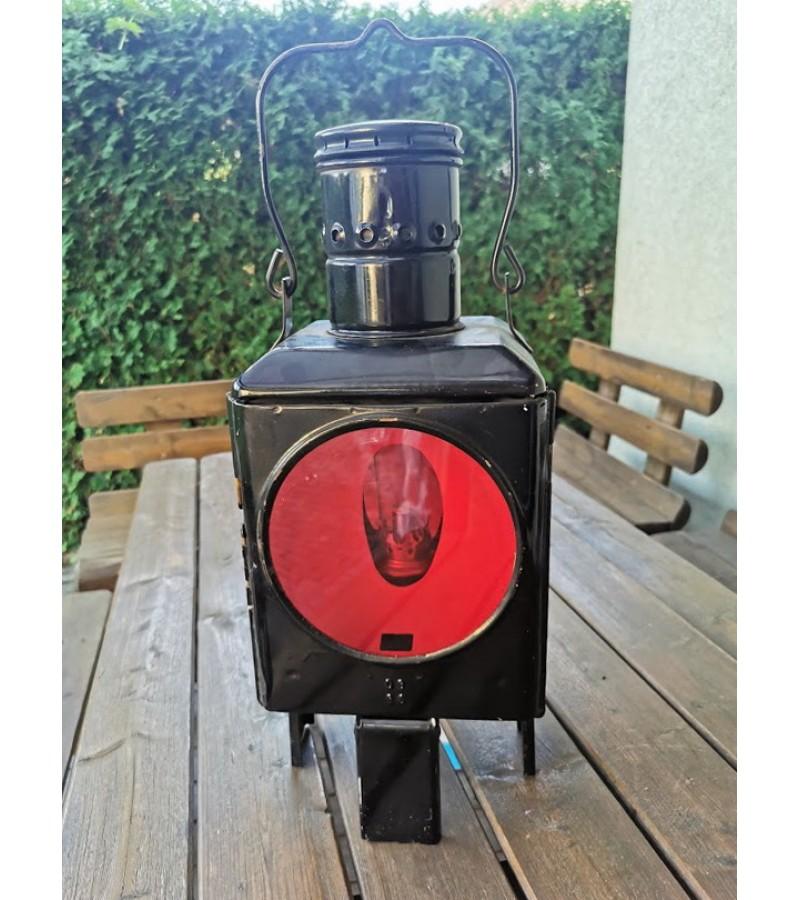 Geležinkeliečių žibintas, žibalinis, nenaudotas. Vokietija. Kaina 163