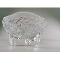 Vaza, saldaininė storo stiklo, vintažinė. Svoris 1 kg. Kaina 18
