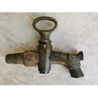 Čiaupas, kranas bačkų antikvarinis, bronzinis. Veikiantis. Kaina 52