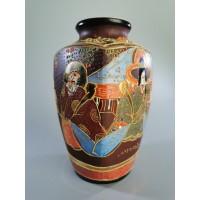 Vaza Satsuma porcelianinė, japoniška, antikvarinė, Kaina 42
