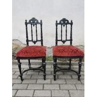Kėdės antikvarinės. 2 vnt. Kaina po 108