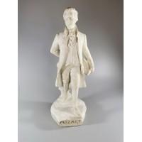 Statulėlė, figūrėlė Mozart, Mocartas. Patinuotas gipsas. 1962 m. Kaina 32