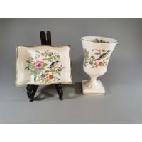Indai porcelianiniai. Anglija. Kaina 32 už abu.