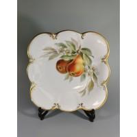 Lėkštė porcelianinė, antikvarinė. Kaina 12