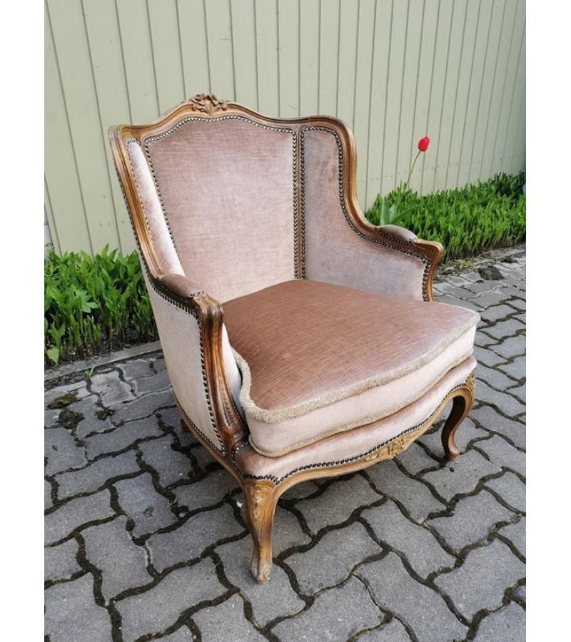 Krėslas, fotelis neobaroko stiliaus. Tvirtas ir patogus. Kaina 238