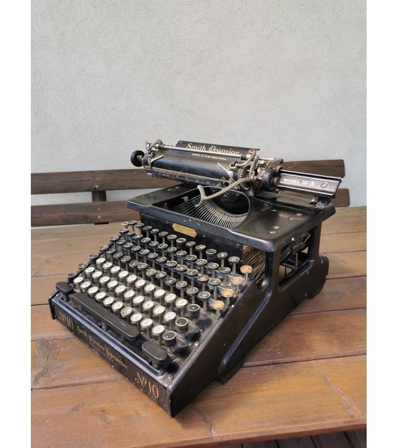 Spausdinimo mašinėlė Smith Premier Model 10-A. Made in U.S.A. 1908 m. Kaina 143