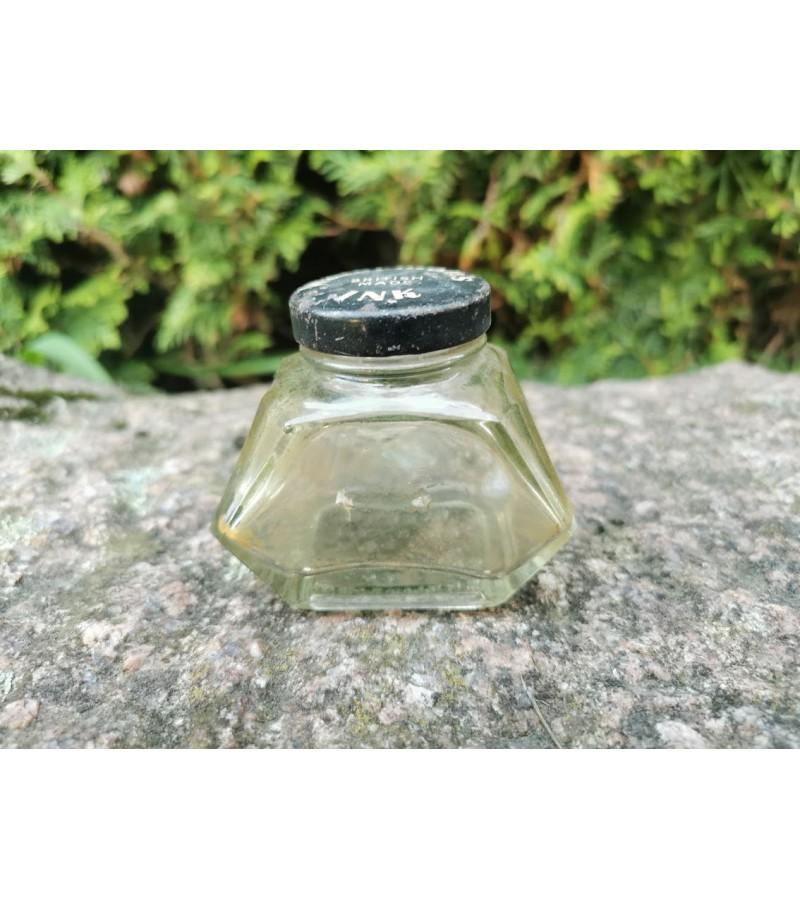 Antikvarinis rašalo buteliukas. Kaina 18