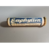Vaistų buteliukas Euphyllin, antikvarinis. Kaina 8
