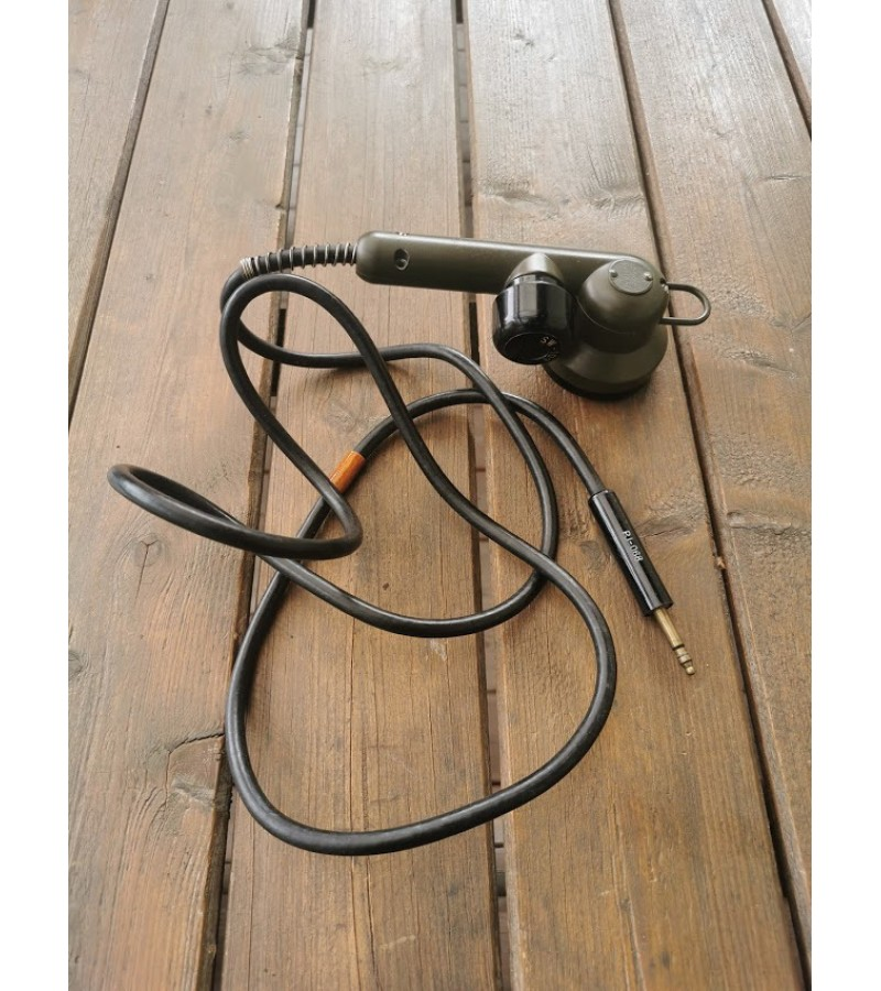 Telefono kariško ragelis. SW-109 Military Microphone T-17 Vintage Mic Cast Handheld Tank. Kaina 32