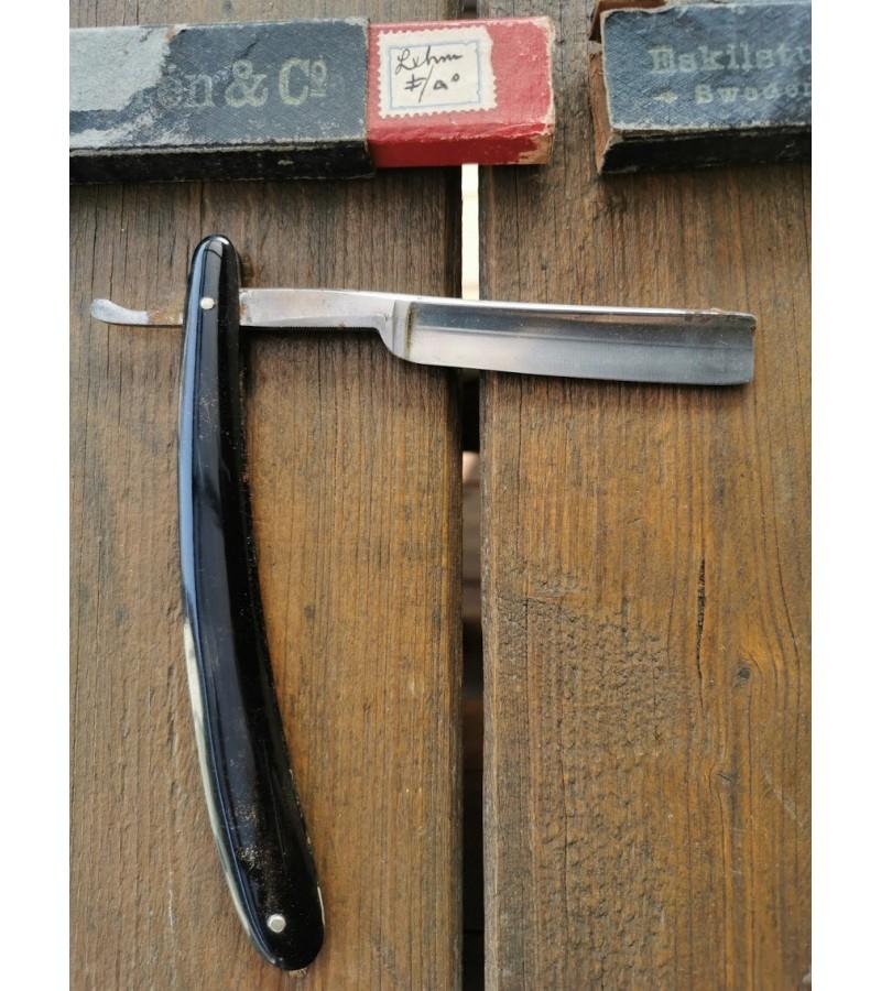 Antikvarinis skustuvas MADE BY KAYSER ELLISON & CO'S BEST SHEFFIELD SILVER STEEL. Bartputzer 1927. Kaina 27