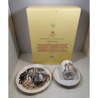 Puodelis su lėlštutėmis porcelianinis, kolekcinis,, originalioje pakuotėje, pasakų motyvais. Nenaudota, tinkama dovana. Puodelio talpa 120 ml. Kaina 18