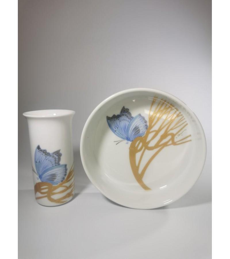 Indai porcelianiniai Rosenthal studio-linie. Germany. Kaina 33 už abu.