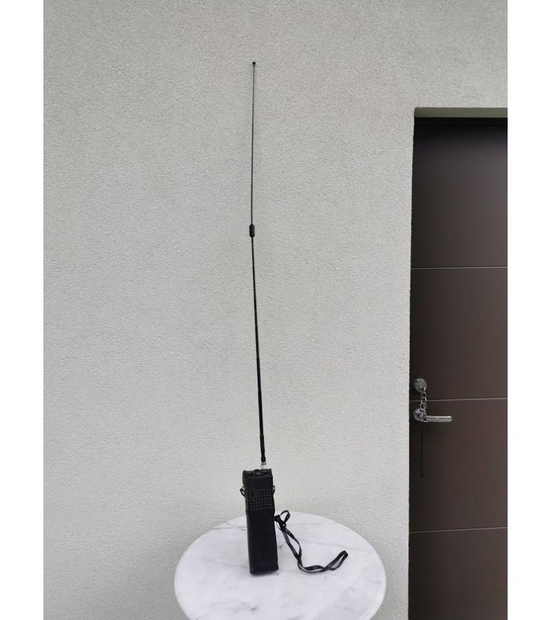 Siųstuvas-imtuvas rankinis. Handheld Transceiver Handic 63D-1. Japan. Originalus dėklas, 1974 m. Kaina 78