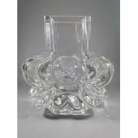 Vazelė Mid Century Modern stiliaus, stiklinė. Autorinė. REZERVUOTA