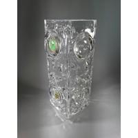 Vaza Mid Century Modern stiliaus, stiklinė. Kaina 22