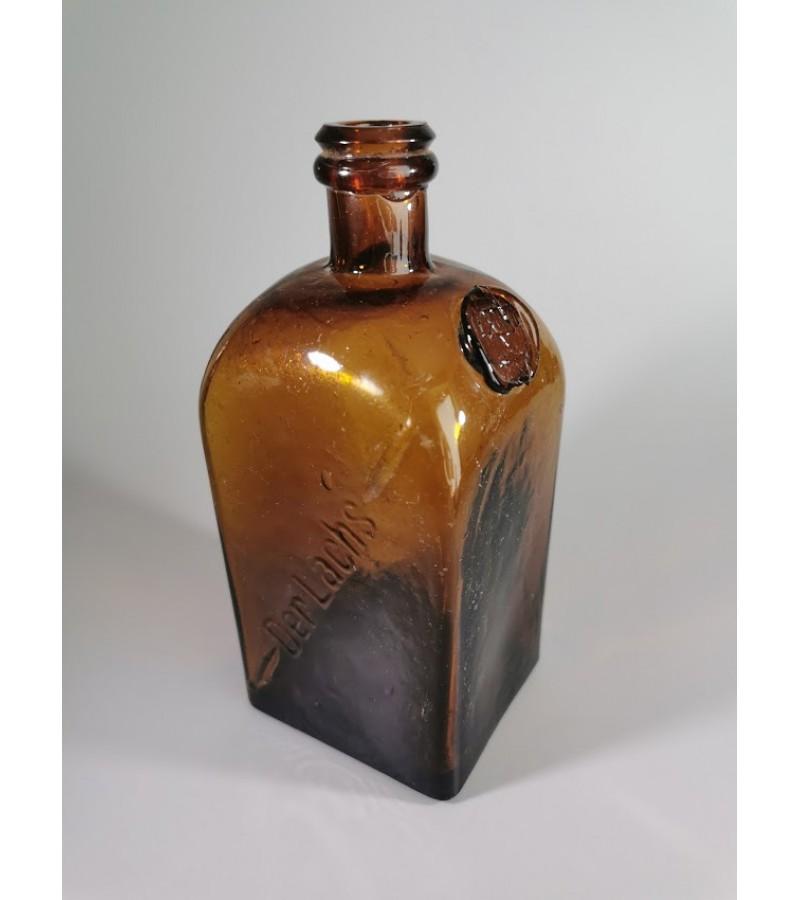 Butelis antikvarinis Der Lachs su žydų simboliu, Dovydo žvaigžde. Kaina 43