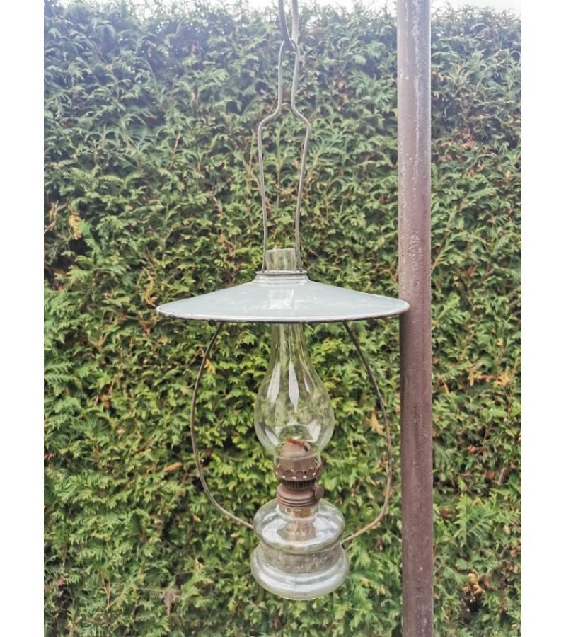 Lempa žibalinė, pakabinama, antikvarinė. Kaina 43