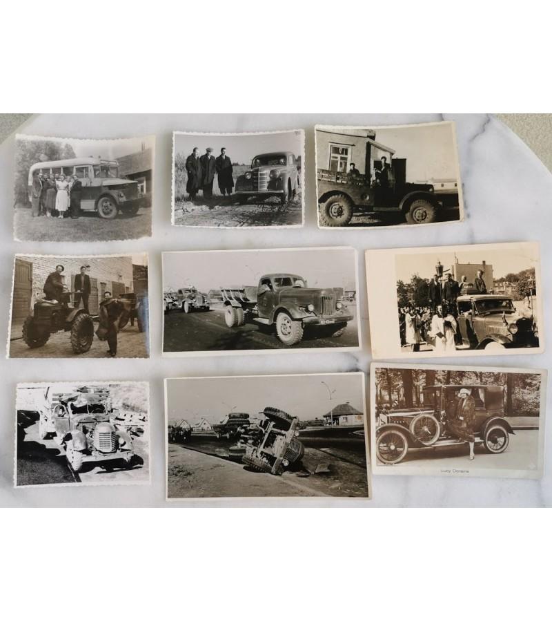 Nuotraukos Automobiliai. Kaina po 10 arba 50 už visas.