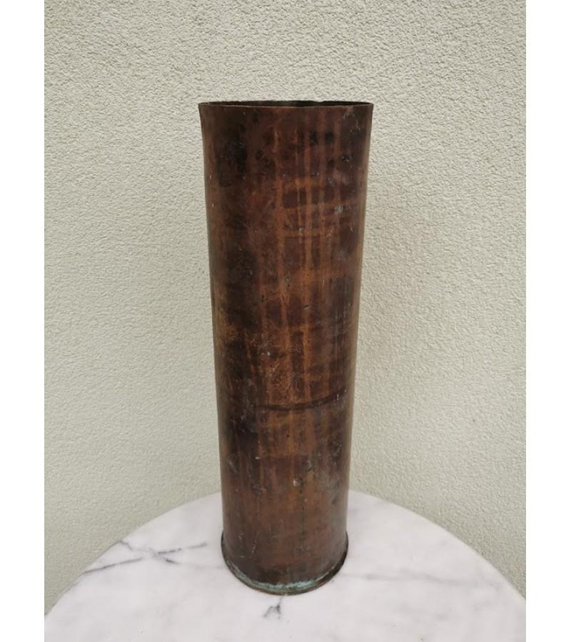 Tūta, tūtelė, gilzė žalvarinė, tuščia. 1941 m. Kaina 107