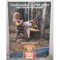 Plakatas vintažinis, originalus rėminimas 1970-1995 m. laikotarpio. Kaina 87