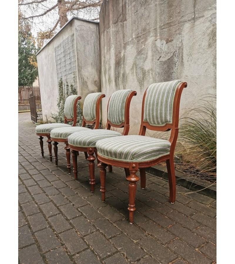 Kėdės antikvarinės Biedermeier. 4 vnt. Kaina po 38
