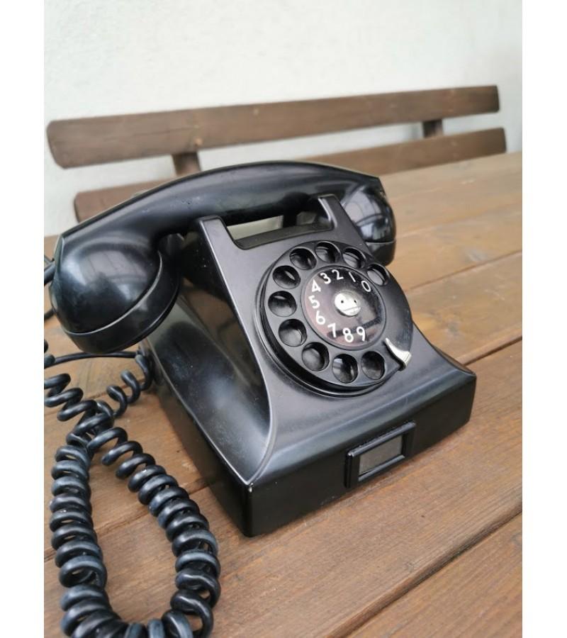 Telefonas Ericsson antikvarinis, bakelitinis. Kaina 87