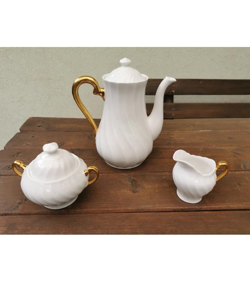 Servizas porcelianinis, angliškas Tuscan. Fine english bone china. Made in England. 6 asmenims. Kaina 93