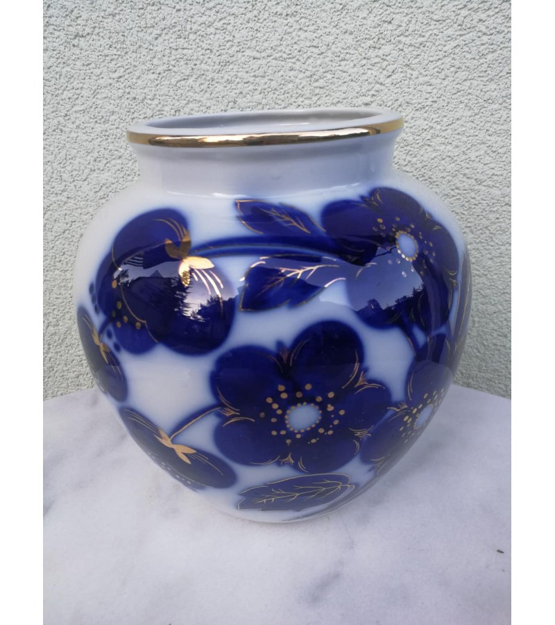 Vaza didelė, porcelianinė LFZ, tarybinių laikų. Made in U.S.S.R. 1960 m. Kaina 157