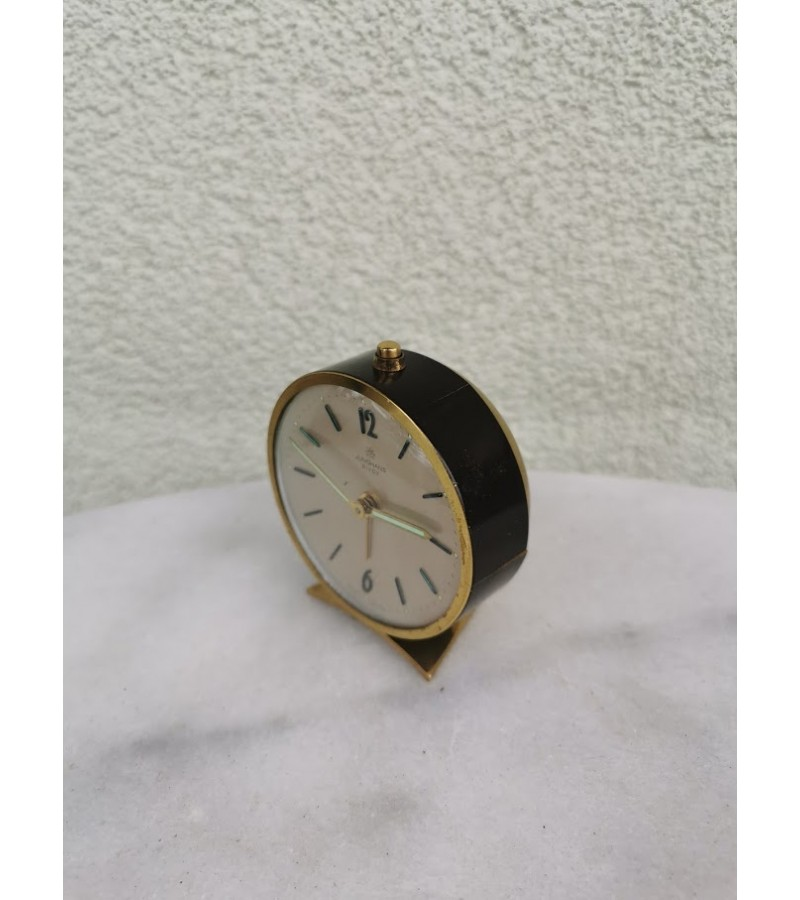 Laikrodis žadintuvas Junghans, vintažinis. Veikiantis, patikrintas laikrodininko. Kaina 23
