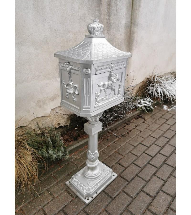 Pašto dėžė pastatoma, nerūdijančio metalo. Anglija. Kaina 157