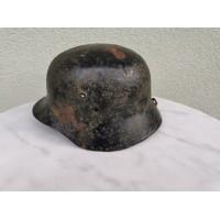 Šalmas vengriškas M38 II PK. Originalas. Hungarian M38 WWII Original Steel Helmet. Kaina 107