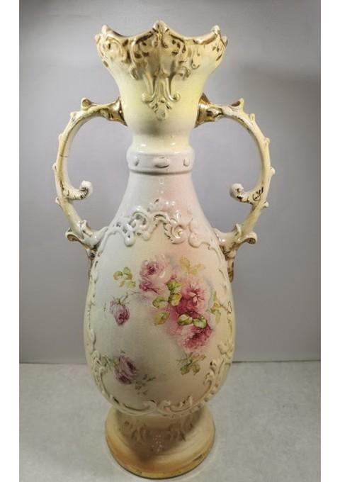 Vaza antikvarinė fajanso. Kaina 43
