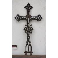 Kryžius antikvarinis, špižinis (ketaus). Kaina 255