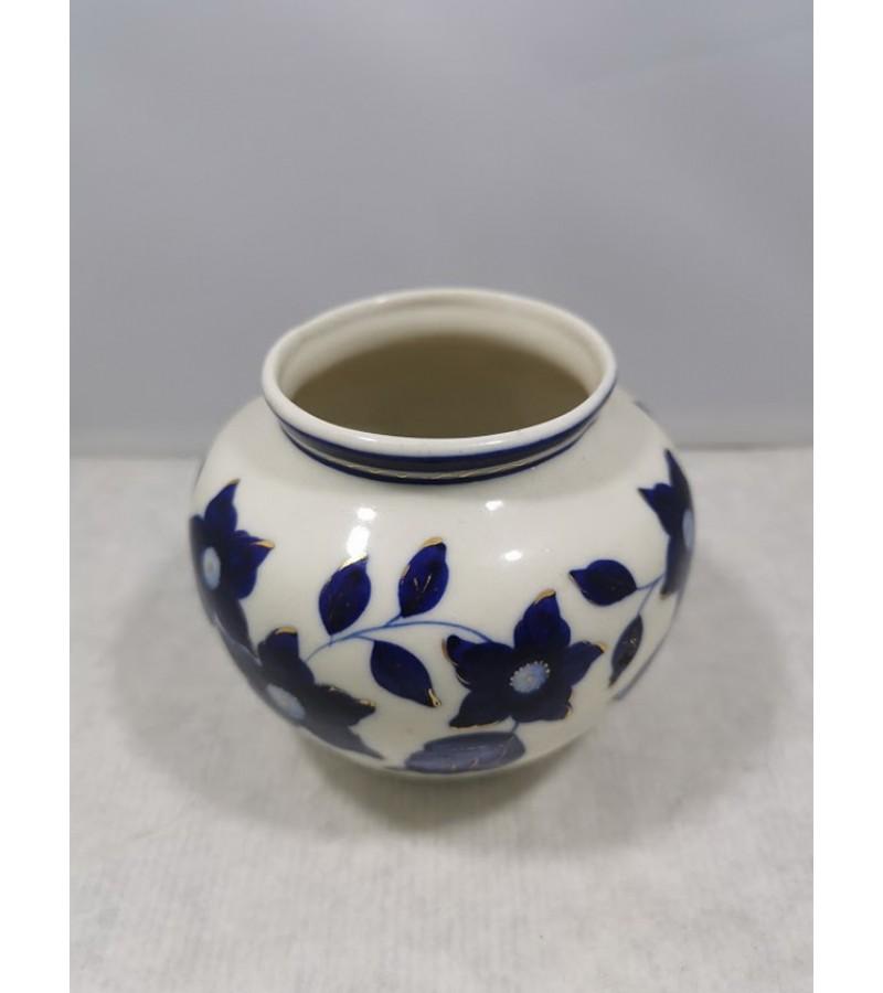 Vazelė porcelianinė, tarybinė, sovietinių laikų. 1940-1950 m. Kaina 28