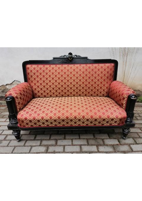 Kanapa, sofa antikvarinė, viskas originalu. Kaina 487