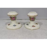 Žvakidės porcelianinės, Rosenthal Germany Sanssouci. 2 vnt. Kaina po 13