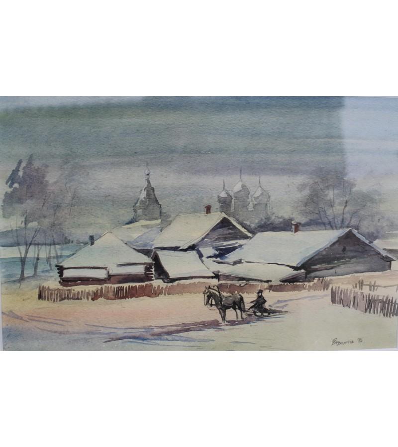 Akvarelė V. Gerasimov. Kaina 87