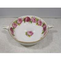 Dubenėlis porcelianinis Rosenthal Selb-Bavaria dviejų rankenų. REZERVUOTA
